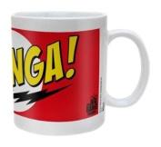 The Big Bang Theory Bazinga Ceramic Mug, Red