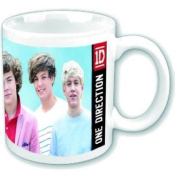 One Direction (1D) Group Shot Boxed Mug