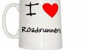 I Love Heart Roadrunners Mug