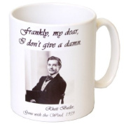 """""""Gone With The Wind"""" Novel Inspired Gift Mug - MugsnKisses Collection - Each Mug Includes Free Chocolate Kiss!"""
