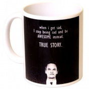"""True Story"" How I Met Your Mother Sitcom Gift Mug - MugsnKisses Range - Each Mug Includes Free Chocolate Kiss!"