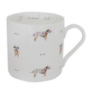 Sophie Allport Fine Bone China Boxed Mug (425ml) - I Said Sit! Terrier
