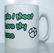 The More People I Meet The More I Love My Great Dane Mug - Ideal Gift/Present