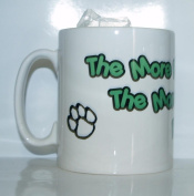 The More People I Meet The More I Love My Pug Mug - Ideal Gift/Present