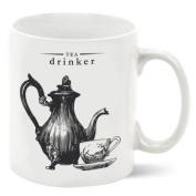 VICTORIANA - Porcelain Mug - Tea Drinker
