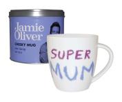 Jamie Oliver Super Mum Mug in Tin