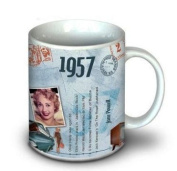 56th Birthday Gift Idea - 1957 Coffee Mug