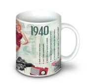 73rd Birthday Gift Idea - 1940 Coffee Mug