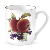 Royal Worcester Evesham Gold Mugs, Apple and Blackcurrant