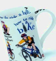 """Dunoon Cotswold """"How To"""" Bike Mug"""