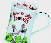 Dunoon Cotswold Mug - How to Play Bowls