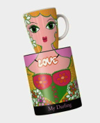 Ritzenhoff My Darling Coffee Mug Design by Petra Peschkes