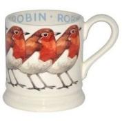 Emma Bridgewater Robin Bird Half Pint Mug