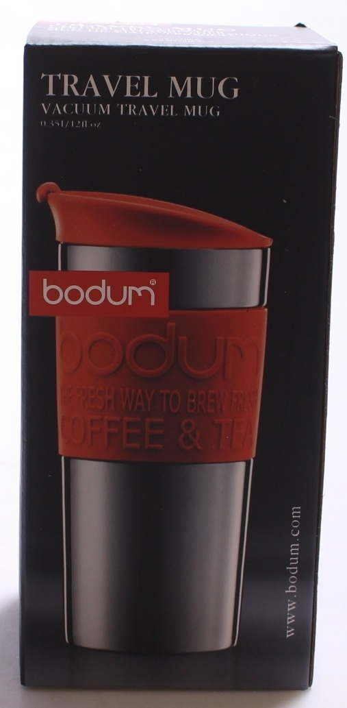 Travel Vacuum Steel Lid And With BandSmall0 L350ml 35 Bodum Red MugStainless wPX8knO0