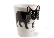 French Bulldog Black Handmade Coffee Mug