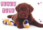 Chocolate Munch Time Standard Pet Placemat