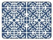 Jason Parterre Blue Placemats - Set of 6