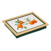 Orangeraie Orange Grove Lap Tray With Attractive Beanbag Cushion