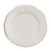 Ten Strawberry Street Gold Line - 26cm Dinner Plate - Set Of 6
