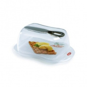 SNIPS BUTTER BUTTER CONTAINER PLASTIC FRIDGE FRESH FOOD SAVE - BUTTER WHITE SMOKE 'WITH DIGNITY IML