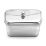 Weis 14282 Butter Dish Square Stainless Steel