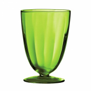 Attractive Sundae Dish Made Of Green Glass & Round Shaped Design