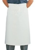 White Waist Apron Ideal For Commerical Kitchens