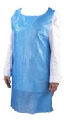 Blue Disposable Aprons, Pack of 100.