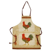 Country Cockerel Design Ladies Apron