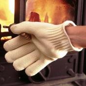 H & S® Super Heat Resistant Anti Burn Heatproof Gloves BBQ Oven Kitchen