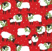 Christmas Napkins - The festive flock - 20 triple-ply paper napkins