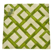 Green Bamboo Design Paper Napkins