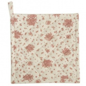 FAO45P Pink Pot cloth pot holder Flowers all Over series