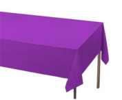Unique Purple Plastic Table Cover