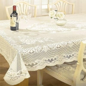 Chantal Lace Tablecloth 91cm Round Cream