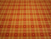 150 CM X 137CM (1.5 METRES) TABLE CLOTH SWEETHEART RED cheque HEARTS DESIGN WIPE CLEAN VINYL / PVC TABLECLOTH