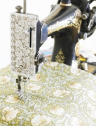 1 Metre Of Licenced William Morris Pimpernel Green 100% Cotton Floral Fabric