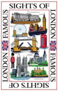 Tea Towel - Sights Of London