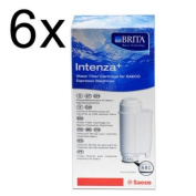 Saeco Intenza+ Water filter from BRITA Water Technology, Pack of 6