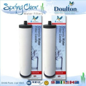 2 x Doulton Ultracarb M15 Water filter Cartridge for Franke water system