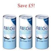 Brita Fill & Go filter discs - 6 Months Supply