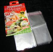 15 Microwave Steamer Bags