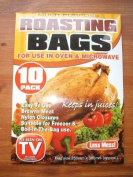 SELF BASTING OVEN ROASTING BAGS KEEPS IN JUICES x 10
