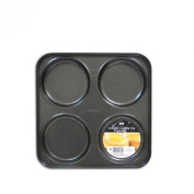 Non-Stick 4 Cup Yorkshire Pudding Tray Perfect for Sunday Roasts from Royle Home