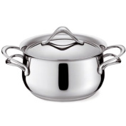 Lagostina Melodia 1141031220 Cooking Pot with Lid 20 cm Stainless Steel