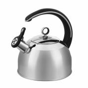 Morphy Richards Accents Stainless Steel Whistling Kettle, 2.5 Litre