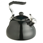 Kitchen Craft Le'xpress Midnight Black 2 Litres Whistling Kettle Midnight Black 2.0 Litre