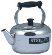 Steelux 5 Litre Traditional Stainless Steel Stove Top Kettle