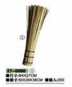 Wok Brush 4x27cm long Superior quality Bamboo