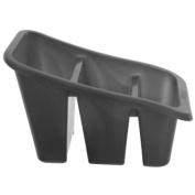 New Kitchen Whitefurze Silver 3 Section Cutlery Drainer Utensil Holder Sink Tidy